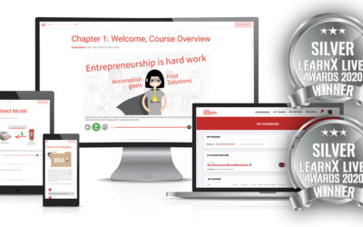 Empowered's Learning Platform Receives Prestigious Awards