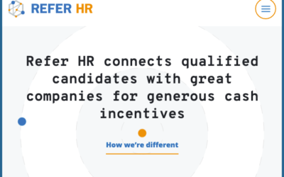 Refer HR – Find talent. Save money. Get rewards.