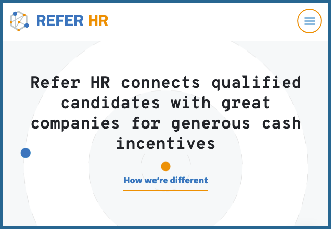 Refer HR – Find talent. Save money. Get rewards.
